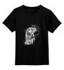 """Детская футболка классическая унисекс """"Growl lion"""" - арт, мужская, рисунок"""