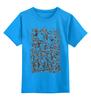 """Детская футболка классическая унисекс """"Черепа"""" - skulls, металл, скилет"""