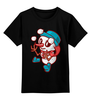 """Детская футболка классическая унисекс """"Снеговик"""" - праздник, новый год, снеговик, snowman"""