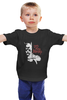"""Детская футболка классическая унисекс """"Do you Bleed? (Batman x Superman)"""" - супермен, batman, superman, бэтмен"""