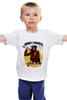 "Детская футболка ""Monkey (Обезьяна)"" - скейтборд, обезьяна, monkey, skateboard"