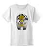 """Детская футболка классическая унисекс """"Лунный монстрик"""" - арт, животные, monster, монстр, ночь, дерево, луна, иллюстрация, мульт"""