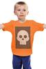 """Детская футболка классическая унисекс """"Веселый Черепок"""" - life"""