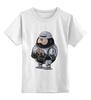 """Детская футболка классическая унисекс """"Fat Robocop"""" - обжорство, робокоп, robocop"""