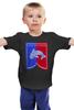 """Детская футболка классическая унисекс """"Дом Талли"""" - игра престолов, game of thrones, дом талли, долг"""