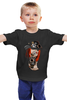"Детская футболка ""steampunk"" - стиль, gun, steampunk, стимпанк, научная фантастика, механика, анахронизм"