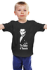 """Детская футболка классическая унисекс """"Владимир Путин"""" - россия, путин"""