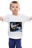 """Детская футболка классическая унисекс """"Русский космонавт"""" - юмор, космонавт, русский космонавт"""