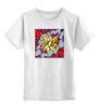 """Детская футболка классическая унисекс """"Pop art"""" - поп арт, яркая, pop art, красочная"""