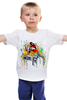 """Детская футболка """"Футболка """"Прыжки в высоту"""""""" - авторские майки"""
