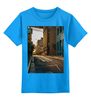 "Детская футболка классическая унисекс ""Evening brooklyn"" - new york, америка, usa, сша, america, street, brooklyn, бруклин"