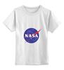 """Детская футболка классическая унисекс """"Без названия"""" - звезды, космос, вселенная, футболка космос, одежда космос"""
