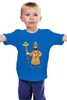 """Детская футболка классическая унисекс """"Просто Царь"""" - царь, россия, russia, czar, империя"""