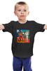 """Детская футболка классическая унисекс """"Basquiat / Баския"""" - граффити, корона, snoopy, basquiat, уличный стиль"""
