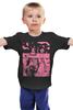 """Детская футболка """"Страшная сказка"""" - ночь, сказка, ужасы, чудики, защита"""