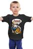 "Детская футболка ""Adventure Time Finn and Jake "" - арт, смешные, приколы, adventure time, время приключений, джейк, jake, finn, финн"