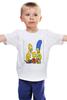 """Детская футболка """"Симпсоны"""" - симпсоны, the simpsons"""