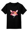 """Детская футболка классическая унисекс """"Foxy (Пять ночей у Фредди)"""" - пять ночей у фредди, выживание в кошмаре, foxy, five nights at freddy"""