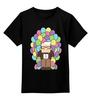 """Детская футболка классическая унисекс """"Вверх (Up)"""" - up, вверх"""