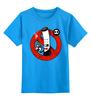 """Детская футболка классическая унисекс """"Курение Убивает! (Сигарета)"""" - курение, сигарета, no smoking, у нас не курят"""
