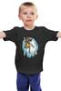 """Детская футболка классическая унисекс """"Миньон с Бананом"""" - banana, банан, миньон, гадкий я, minion"""