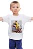 """Детская футболка """"Pin-up girl"""" - девушка, ретро, машина, pin-up girl, пинап"""