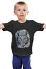 """Детская футболка классическая унисекс """"Doodle Owl"""" - арт, стиль, птица, рисунок, птицы, графика, сова, филин, owl, doodles"""