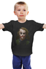 "Детская футболка ""Dark Knight"" - joker, batman, джокер, хит леджер, kinoart"