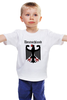 """Детская футболка классическая унисекс """"Германия"""" - страны, герб, символика, германия"""