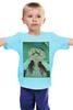 """Детская футболка """"Я знаю это ты! Funny Smile"""" - любовь, арт, стиль, girl, рисунок, девушке, алина макарова"""