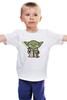 """Детская футболка классическая унисекс """"Yoda Star Wars"""" - star wars, yoda, йода, звёздные войны"""