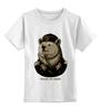 """Детская футболка классическая унисекс """"made in USSR"""" - bear, ссср, медведь, россия, russia, патриотические футболки, арт медведь, russian bear, made in ussr"""