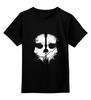 """Детская футболка классическая унисекс """"Череп"""" - skull, череп, игры"""