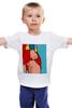"""Детская футболка классическая унисекс """"It's my girl"""" - поп арт, комиксы, супермэн, супергёрл, super girl"""