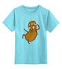"""Детская футболка классическая унисекс """"Каратэ Орех"""" - каратэ, орех, nut"""