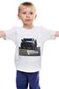 """Детская футболка классическая унисекс """"Fast & Furious / Форсаж"""" - авто, форсаж, точки, kinoart, хаммер"""