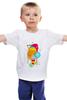 """Детская футболка """"Сова в колпаке"""" - спицы, сова, творчество, хобби, рождество, снежинки, new year, owl, спать, новыйгод"""