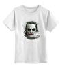"""Детская футболка классическая унисекс """"Джокер (Joker)"""" - joker, batman, джокер, суперзлодей, the dark knight"""