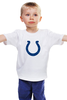 "Детская футболка ""Indianapolis Colts"" - удача, подкова, nfl, американский футбол, indianapolis colts"