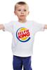 """Детская футболка классическая унисекс """"Король Селфи (Selfie King)"""" - пародия, foto, селфи, selfie, burger king"""
