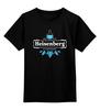 "Детская футболка классическая унисекс ""Heisenberg"" - во все тяжкие, breaking bad, гейзенберг, walter white, уолтер уайт, heisenberg, cook, джесси пинкман, jesse pinkman"