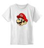"""Детская футболка классическая унисекс """"Марио (Mario)"""" - nintendo, mario, mario bros, братья марио"""