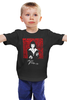 "Детская футболка ""Pulp Fiction black"" - tarantino, ума турман, криминальное чтиво, pulp fiction, квентин тарантино"