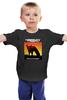 """Детская футболка классическая унисекс """"The Prodigy"""" - музыка, великобритания, the prodigy, брейкбит, популярноеный"""