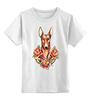 """Детская футболка классическая унисекс """"фараон"""" - dog, олд скул, собака, old school, розы, roses, дог, tm kiseleva, фараонова собока"""
