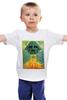 """Детская футболка классическая унисекс """"Darth Vader - Ацтек"""" - star wars, darth vader, звездные войны, дарт вейдер"""