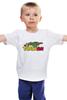 """Детская футболка классическая унисекс """"Таргариен (Targaryen)"""" - дракон, dragon, игра престолов, game of thrones, таргариен"""