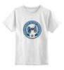 """Детская футболка классическая унисекс """"Columbus Blue Jackets / NHL USA"""" - usa, nhl, columbus blue jackets, kinoart"""