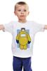 """Детская футболка классическая унисекс """"Baymax x Breaking Bad"""" - пародия, во все тяжкие, breaking bad, город героев, baymax"""