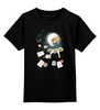 """Детская футболка классическая унисекс """"Алиса в стране чудес"""" - алиса в стране чудес, alice in wonderland, чеширский кот"""